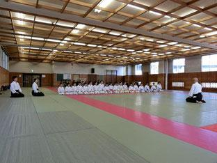 堺市合気道鴻心館秋季進級審査会2018