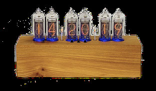 Ash Wood Nixie Clock