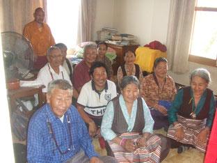 チベット人の俗人ゾクチェン修行者