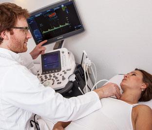 Ultraschalluntersuchung Praxis Dr. Kramer Meschede