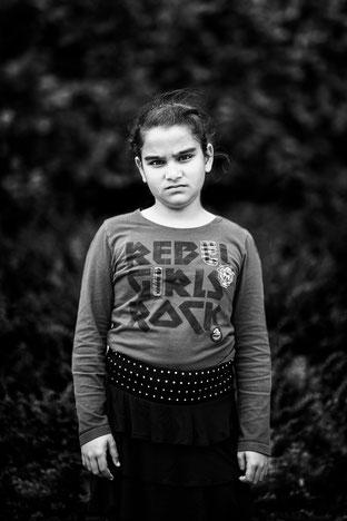 Siedra portret portrait Vluchtig Vluchtelingenwerk Katja Poelwijk