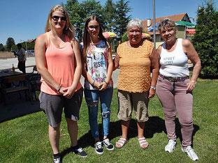 Birgit, Anika, Sonja, Margret