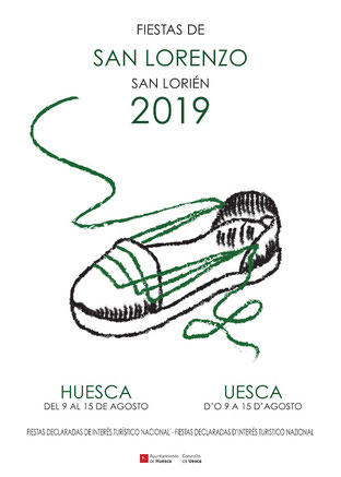 cartel san lorenzo huesca 2019