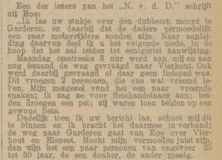 Provinciale Geldersche en Nijmeegsche courant 22-10-1921