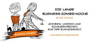Die lange Business-Zombie-Woche, 22.-31.10.2014, © Bianca Fuhrmann , #BusinessZombie