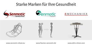 Starke Marken für Ihre Gesundheit, Senmotic Shoes, Senmotic Therapy, 4Mechanixx