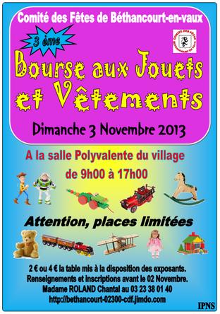 Affiche © Comité des Fêtes de Béthancourt-en-vaux