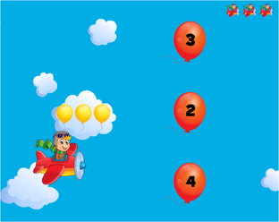 złap balonik
