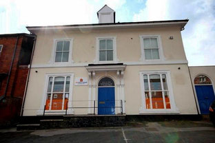 A Victorian house on the Holyhead Road now converted as office premises.