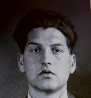 Den unge østrigske antifascist Ernst Blaukopf