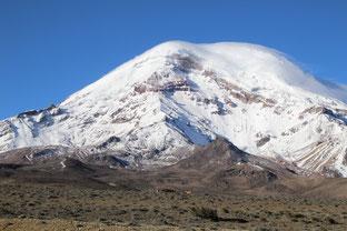 dernier regard sur le Chimborazo