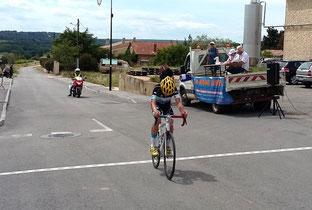 Florian De Marans (VSG Alès) vainqueur du 2ème groupe