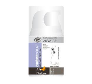 crème sérum + Allo Natue, top 10 des soins visage bios spécial peaux déshydratées/sèches, just'pour soi