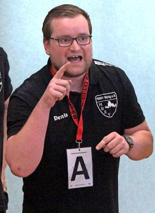 Denis Wandersee konnte mit dem Auftritt seiner Mannschaft in Guben nicht zufrieden sein. Foto: Marcus Alert