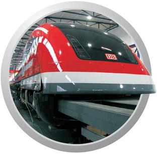 GFK- und CFK-Teile für Schienenfahrzeuge