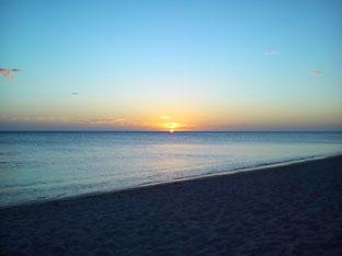 Am Strand kann man mit am besten über das Leben nachdenken.