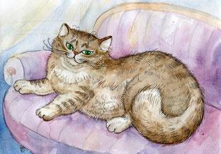 Рисунок талантливой ивановской художницы А. Болдиной