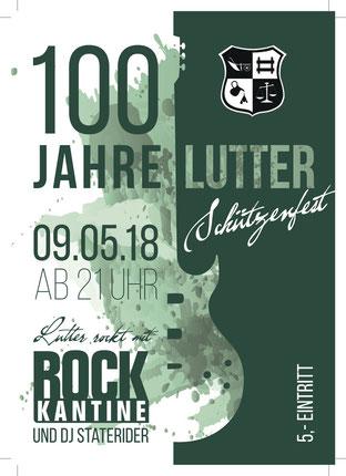 Rockkantine Schützenfest Lutter
