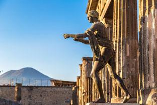OmoGirando Pompei - Lo spogliatoio delle Terme Stabiane