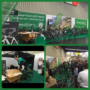 e-motion Nürnberg: Großes Interesse an e-Bikes auf der Freizeitmesse