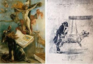 """""""La tentation de Saint-Antoine"""" et """"Ne faites pas aux autres..."""""""