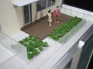 建築模型SOLIDの建築模型