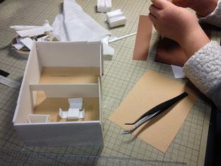 子供が作る模型