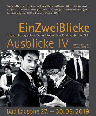 EinZweiBlicke, Bad Laasphe,Kunstverein, Ausstellung, Fotografie, International,
