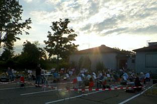 """""""MVB goes Festplatz"""" und nicht nur die Sonne strahlte."""