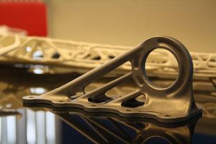 Cabin bracket, made via 3D printing / source: Julian Caanitz