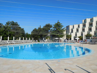 Hotel mit Pool in Porec