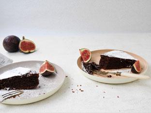 Kakao-Grießbrei mit Birne