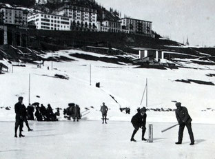 The original Cricket-On-Ice (1896) was played on skates