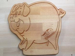 Schwein Dick