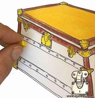 tutoriel comment fabriquer une malle décoration construire vos projet.