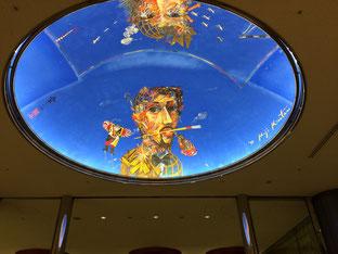 東京芸術劇場の天井です