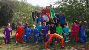 Regenbogenmannschaften vom IFZ Rhein Main