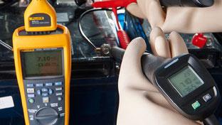 tester x verifica batterie e alimentazioni