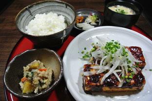 豆腐ステーキ tofu steak