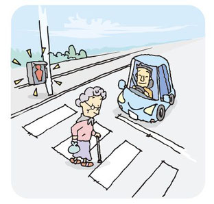 高齢者事故の防止