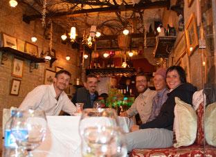 v.l.n.r: Tömu, Kirtap, David, Flurina, Marianne