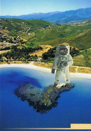 On a marché sur (la tête) la Corse.