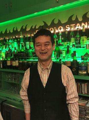 奥沢「ピッコロスタンツァ」マスター内海氏