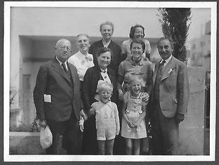 Die Familie von Abraham und Grete Katz in Palästina