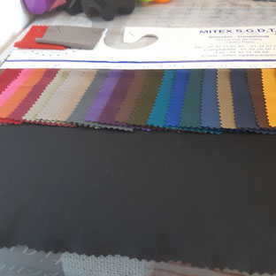 tissu jersey banlon lourd