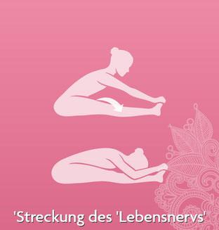 Asanas und Yoga Übungen für Yoga Anfänger und Fortgeschrittene - Yogaübung Streckung des Lebensnervs - yogitea.com