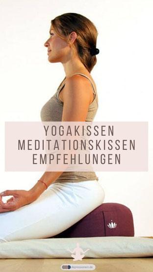 Yogakissen Meditationskissen Empfehlungen - Lotuscrafts Yogakissen Meditationskissen Lotus