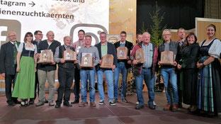 Honigprämierung 2019: 4 Honigbären gingen nach Oberkärnten
