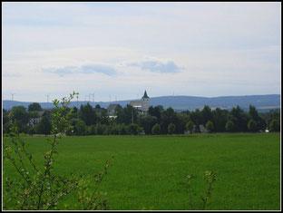 Blick auf Horn/Hunsrück