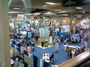 FNCE San Diego 2011 Expo Floor.
